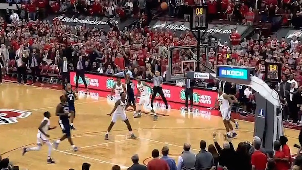 Ohio State Penn State Bonkers Ending Buzzer-Beater