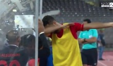 Saudi Footballer Possibly Looking At Serious Jail Time After Dabbing During Match (VIDEO)