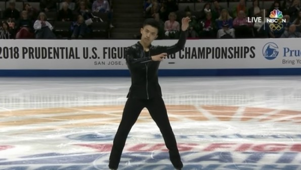 Figure Skater Jimmy Ma Dazzles with 'Turn Down for What' Routine