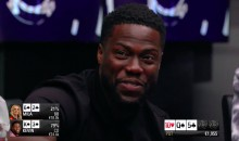 Clueless Kevin Hart Completely Screwed Up His Poker Hand…But Still Managed to Win a Crazy Pot (VIDEO)