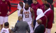 "Kyrie Irving ""LIKES"" Video Of LeBron James Screaming at Teammates (VIDEO)"