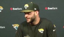 NFL Whipping Boy Blake Bortles Uses LeBron James Analogy to Deflect Haters (VIDEO)