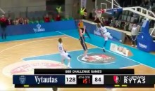 Lonzo Ball Roasts Brother LaMelo After Failed Self Alley-Oop in Lithuania (VIDEO)