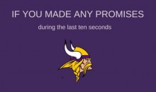 Minneapolis Church Uses Vikings' Miracle Win to Guilt People Into Attending Mass (TWEET)