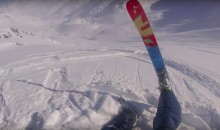 Heli-Skiing Goes Terribly Wrong When Ski Goes Down Hill Without Skier (VIDEO)