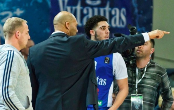 LaVar Ball set to become assistant coach for sons' Lithuanian team