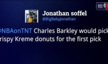 Charles Barkley Fires Back At A 'Fat Ass' Lakers Fan After He Tweeted A Krispy Kreme Joke About Him (VIDEO)