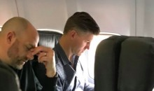 New Bears Head Coach Looks Awfully Frustrated Watching Team's Crappy Game Film on a Plane (PIC)