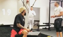 Here's Johnny Manziel Working Out With Odell Beckham Jr. (VIDEO)