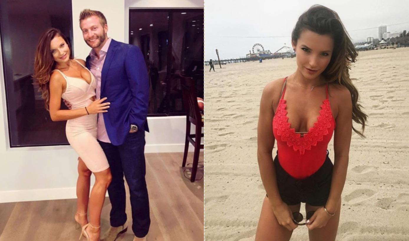 Rams HC Sean McVay Is Dating Ukrainian Smokeshow Veronika
