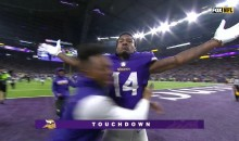 Vikings Walk-Off 61-Yard TD Against Saints Gets The Titanic Treatment (VIDEO)