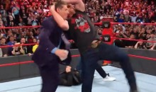 Steve Austin Celebrates 25th Anniversary of RAW by Doing Stone Cold Stunner on 72-Year-Old Vince McMahon (Video)