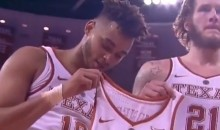 Shaka Smart and Texas Players Pay Emotional Tribute to Teammate Diagnosed with Leukemia (VIDEOS)
