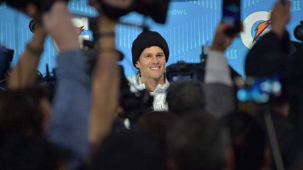 Tom Brady Ends Interview After Comment About Daughter