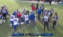 Bills QB Tyrod Taylor Suffers Possible Concussion During Wild Card Game (VIDEO)