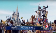 UCF Actually Had a National Championship Parade at Disney World (Video)