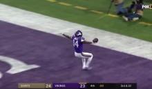 Someone Set Stefon Diggs' Game-Winning 61-Yard TD to Prince's 'Purple Rain' (VIDEO)