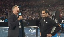 Will Ferrell Conducts Hilarious Interview With Roger Federer After Aussie Open Win (VIDEO)