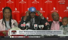 BREAKING: Nation's Top Recruit Zion Williamson Is Headed To Play For The Duke Blue Devils (VIDEO)