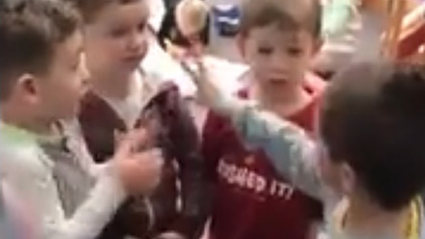 adorable kids talk about vikings game