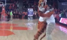 A Clemson Student Drained a Full-Court…Putt(?) to Win $10,000 (VIDEO)
