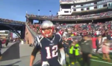 Tom Brady Yells At Cameraman To 'Get The F*ck Out Of The Way' (VIDEO)