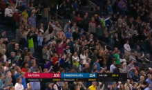 "Vikings Fans Break Out ""Skol"" Chant At Minnesota Timberwolves Game (VIDEO)"