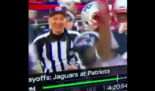 It Sure Looks Like This Referee Celebrated A TD With The Patriots (VIDEO)