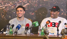 Female Lithuanian Reporter Shoots Her Shot With LiAngelo Ball, Wants To Know If Has A GF (VIDEO)