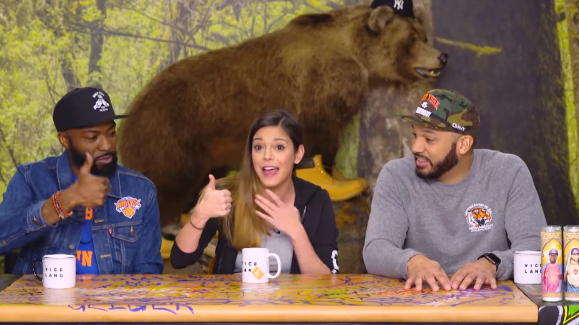 ESPN's Katie Nolan Calls Donald Trump A 'F*cking Stupid Person' class=