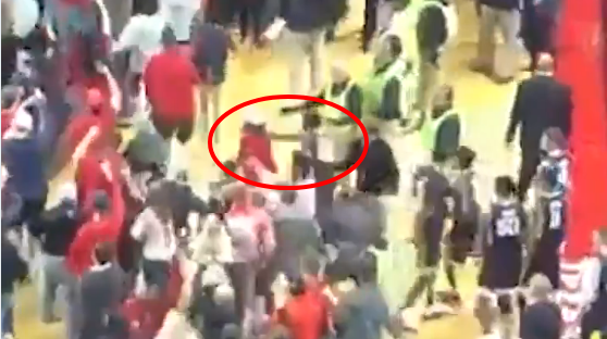 Video shows West Virginia player allegedly punching Tech fan