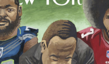 The New Yorker Cover Features Illustration of MLK Kneeling Next to Bennett, Kaepernick