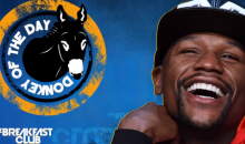 """Charlamagne Tha God Rips Floyd """"Moron"""" Mayweather In 'Donkey of the Day' Segment For His #MeToo Comments (VIDEO)"""