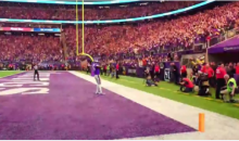 A Sideline Cam Caught The Epic Moment Stefon Diggs Caught The Game Winning TD (VIDEO)