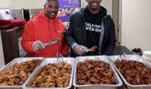 Cincinnati Bengals Deliver Bills' 'Thank You' Chicken Wings To Autism High School