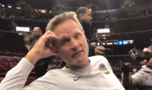 "Steve Kerr: Martin Luther King Jr ""Would Be Less Than Inspired By The Leadership In Our Country"" (VIDEO)"