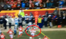 Darrelle Revis Seemed To Quit On Derrick Henry's Game-Clinching First Down Run (VIDEO)
