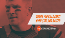 Bills Fans Have Now Donated Over $100K To Andy Dalton's Foundation