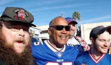 OJ Simpson Shows Up To Cheer On The Bills For Their Playoff Game (PICS)