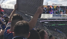 Bills Fan Marks His Territory By Bringing Table Inside EverBank Stadium