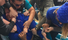 Buffalo Bills And Jaguars Fans Got Into A Brawl In The Stands (PIC)