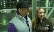 Vikings Fans Say Eagles Fans Took Off Their Hats, Threw Them In Urinals, & Peed On Them (VIDEO)