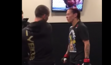 Cris Cyborg's Coach Slapped The Hell Out of Her Before She Took On Holly Holm (VIDEO)