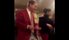 Nick Saban Is Recruiting Already By Doing The 'Cupid Shuffle' In Their Living Room (VIDEO)