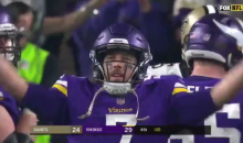 Bone-Chilling Moment As Case Keenum Leads The 'SKOL' Chant With Entire Stadium (VIDEO)