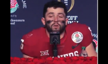 Baker Mayfield Cries As He Reflects On His College Career Being Over After Rose Bowl Loss (VIDEO)