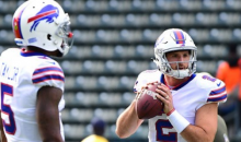 Nathan Peterman Finishes Season With More INTs Than Tyrod Taylor On 405 Fewer Passes