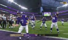 Vikings Play 'Freeze Tag' After Scoring TD Against Saints (VIDEO)