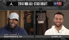 LeBron James and Steph Curry Have Picked Their All-Star Teams, and They Made Some Interesting Choices (VIDEO)