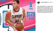 Matt Barnes Rips Into Clippers, Doc Rivers on Instagram After Blake Griffin Trade (PIC)
